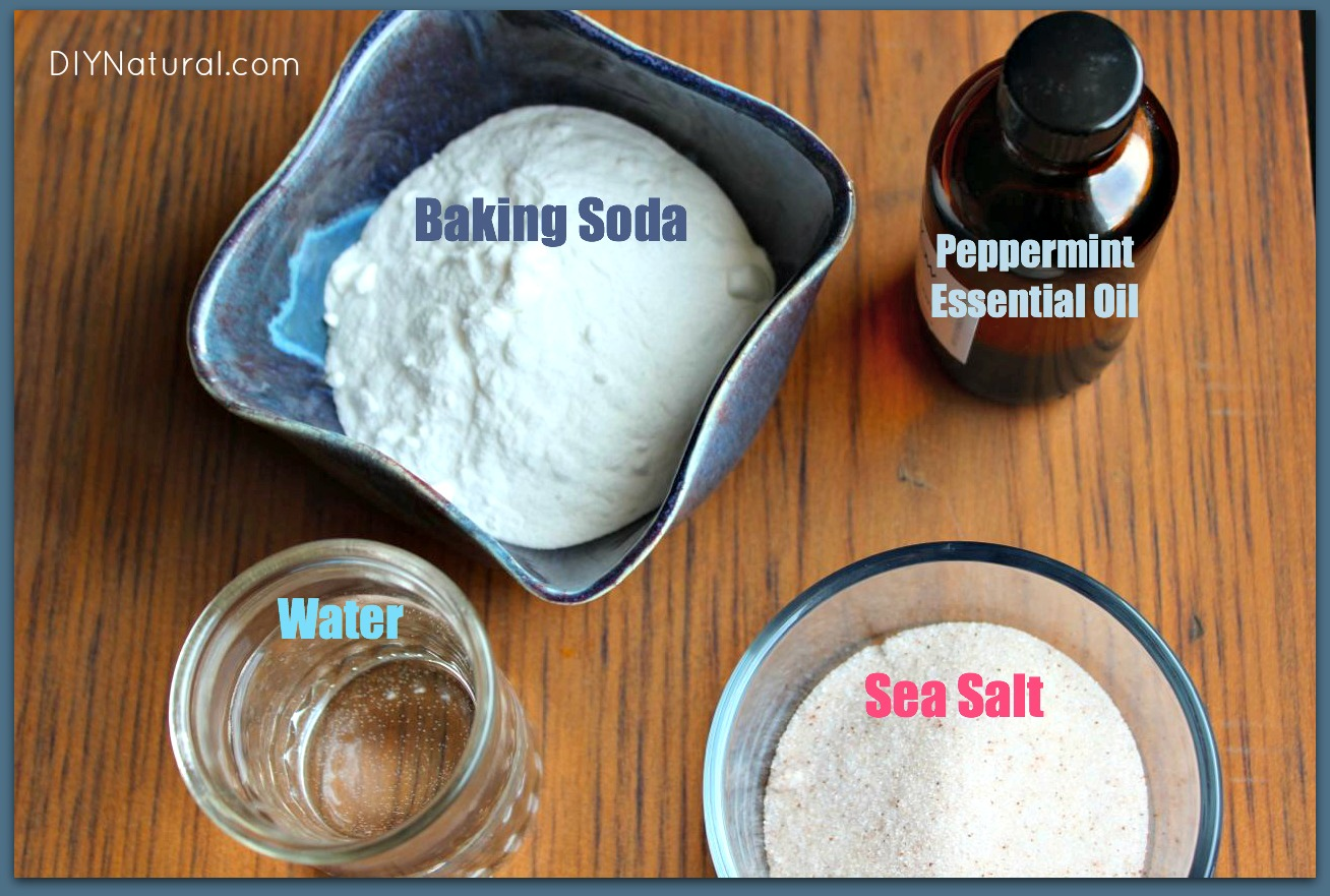Homemade Toothpaste A Natural Recipe That Is Simple And
