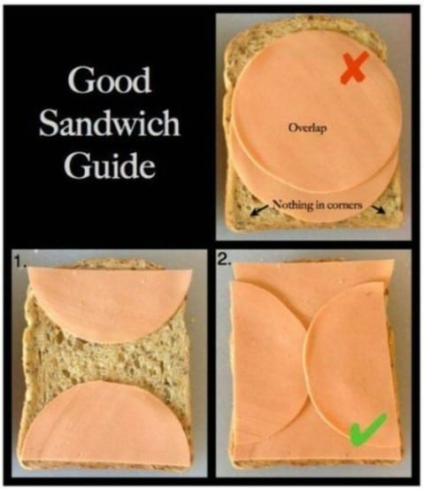 Good sandwich guide - Top 68 Lifehacks and Clever Ideas that Will Make Your Life Easier