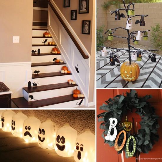 spooky interior 40 easy to make diy halloween decor ideas