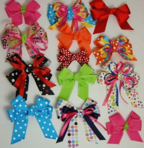 30 Fabulous And Easy To Make DIY Hair Bows DIY Amp Crafts