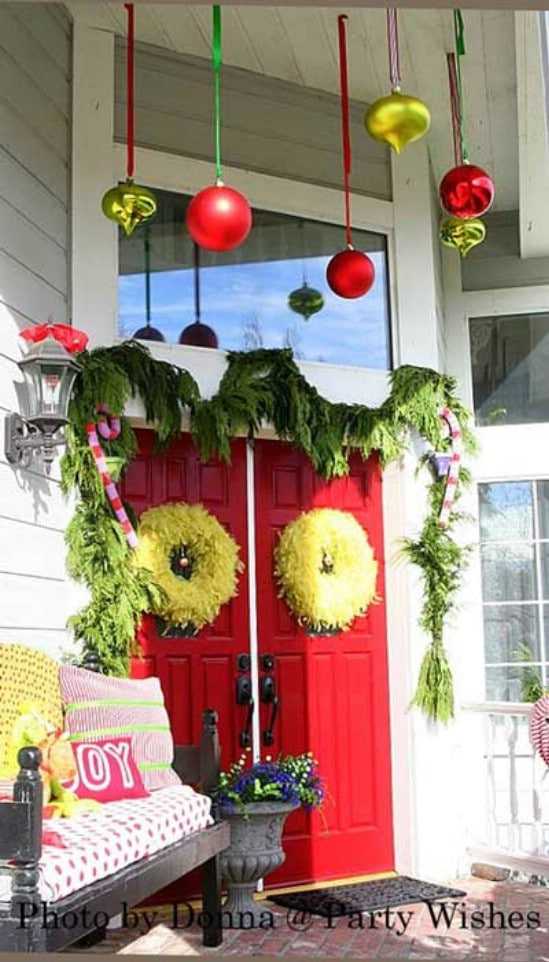 Ening Christmas Decorating Ideas For My Front Porch Exquisite