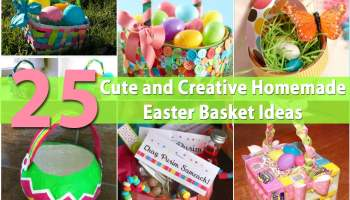 How To Make A Gorgeous Flowery One Egg Easter Basket Diy Crafts
