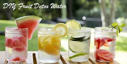 Fruity Detox Water