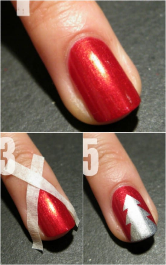 Rocking Around The Christmas Tree This Season We D Much Rather Rock Evergreens On Our Tips Despite Nail Design S