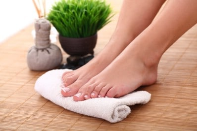 Soften calluses and corns - 51 Extraordinary Everyday Uses for Hydrogen Peroxide