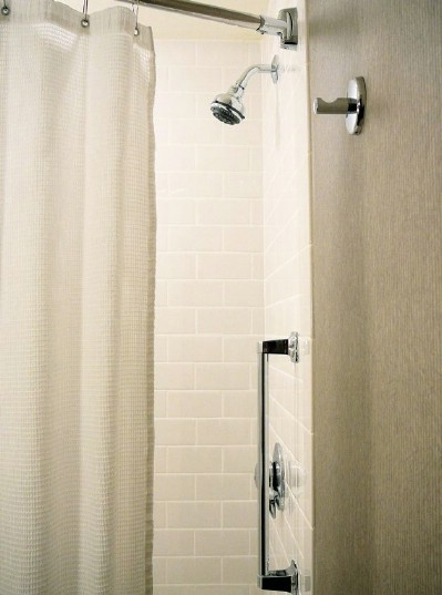 Wash your shower curtains - 51 Extraordinary Everyday Uses for Hydrogen Peroxide