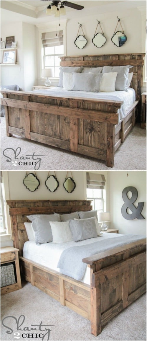 21 DIY Bed Frame Projects Sleep In Style And Comfort DIY Amp Crafts