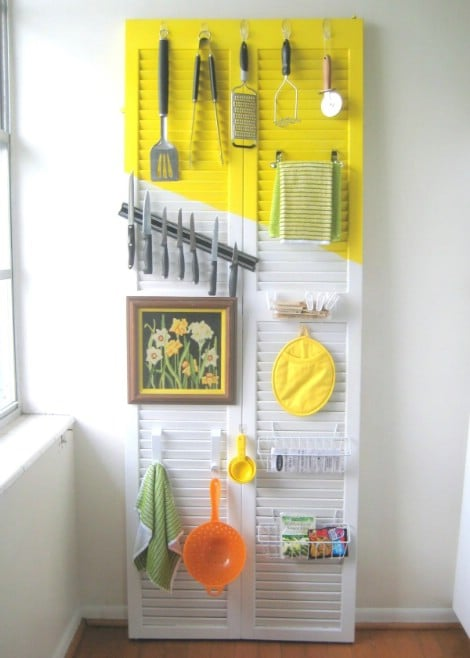 Kitchen Door Organizer