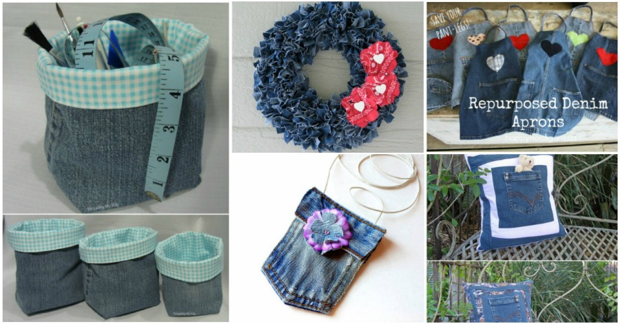 40 Incredible Repurposing Projects For Old Jeans That You