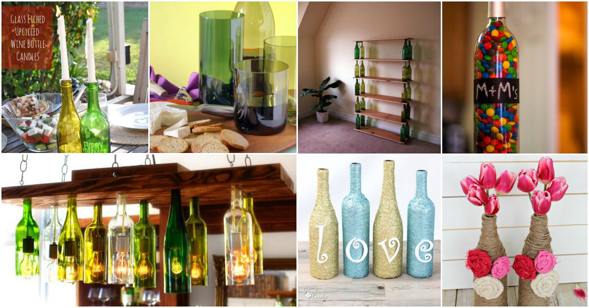 26 Epic Empty Wine Bottle Projects Dont Throw Them Out