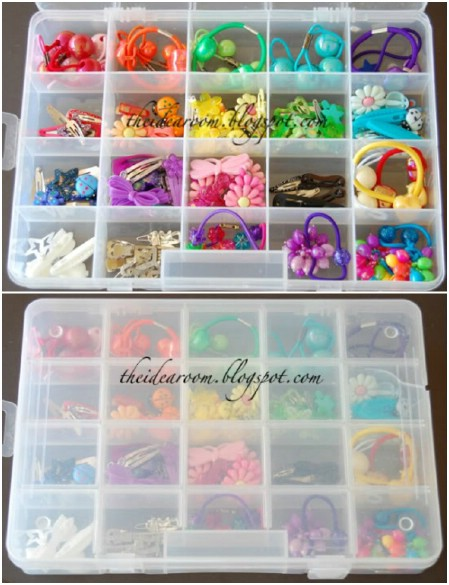 Craft Boxes for Hair Storage