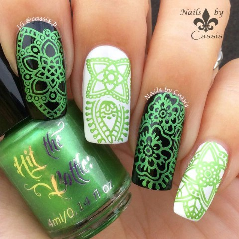 Acrylic Nail Art Designs 17 18