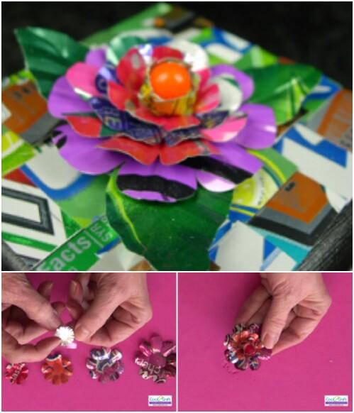 Tin Flower Box Topper