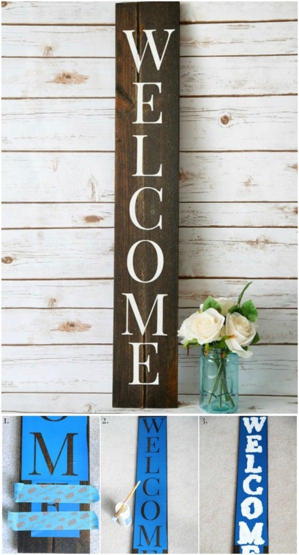 Rustic Charm Home Decor15 DIY Wood Sign Ideas Style