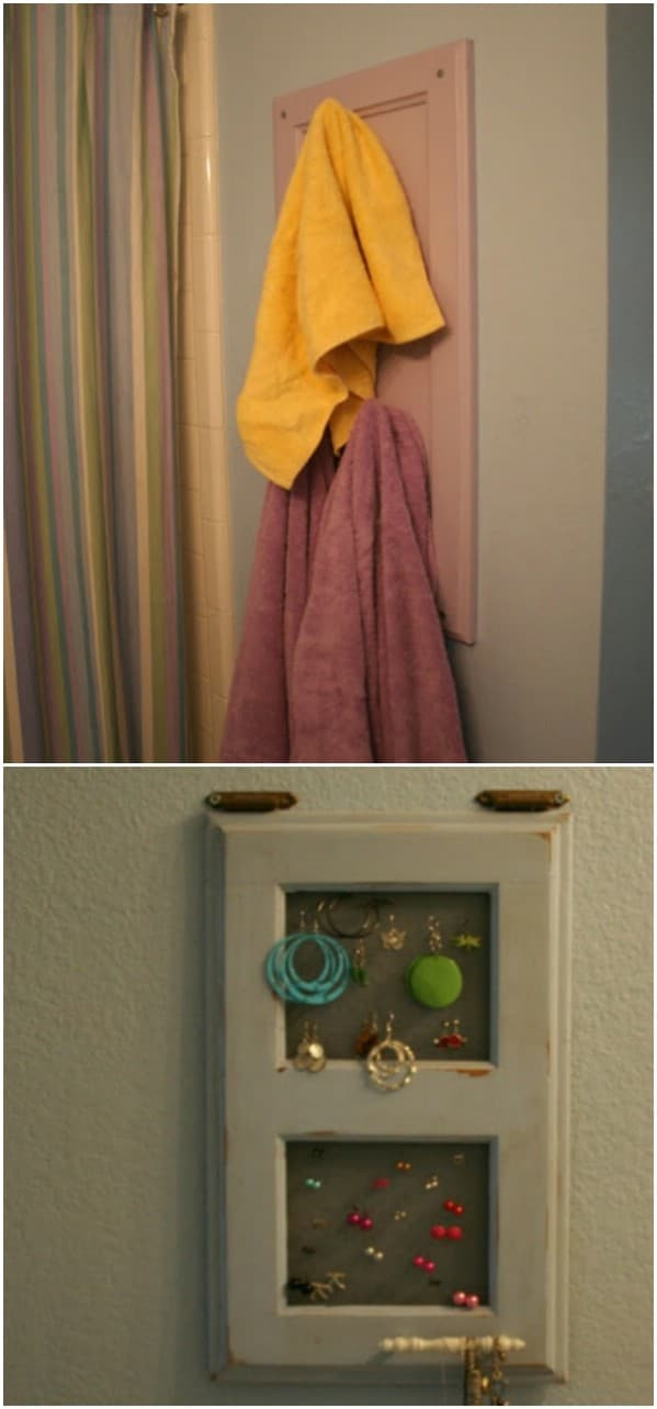 25 DIY Projects Made From Old Cabinet Doors Its Time To