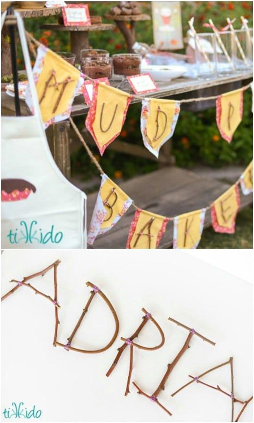 Romantic Rustic Wedding: 16 DIY Wedding Decorations and Ideas