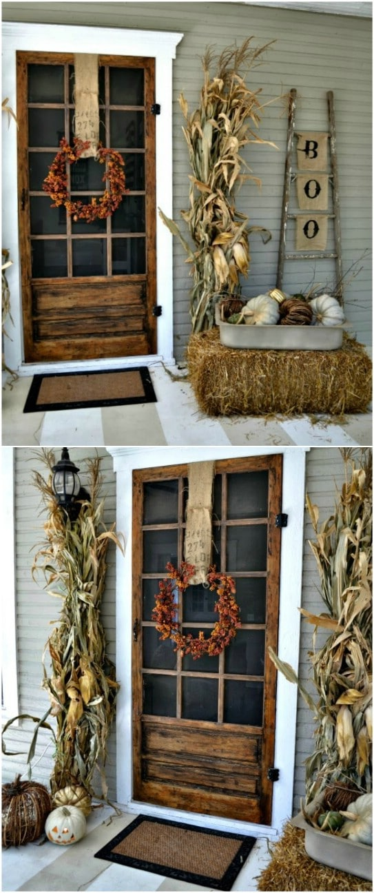 Welcome Fall 16 Amazing Diy Fall Porch Decorating Ideas