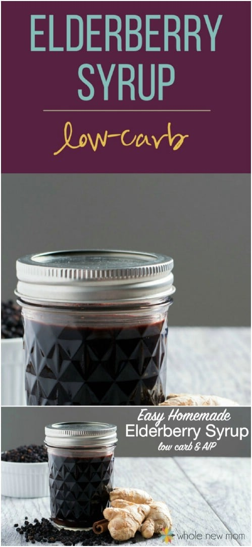 DIY Elderberry Syrup