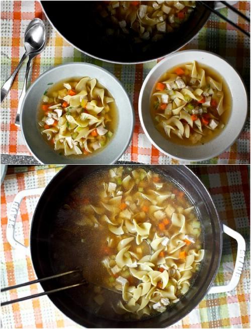 Grandma's Homemade Chicken Noodle Soup