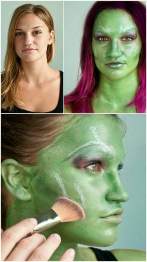 easy halloween makeup tutorial