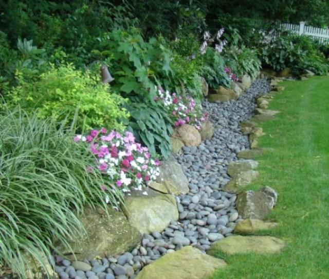 Small Stone Garden Edging