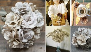 How to make diy paper dahlias for undying beauty diy crafts 10 easy ways to make gorgeous diy book page roses mightylinksfo
