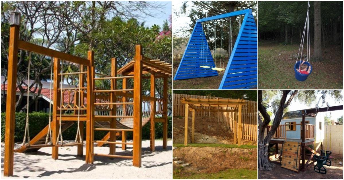 Wooden Swing Plans