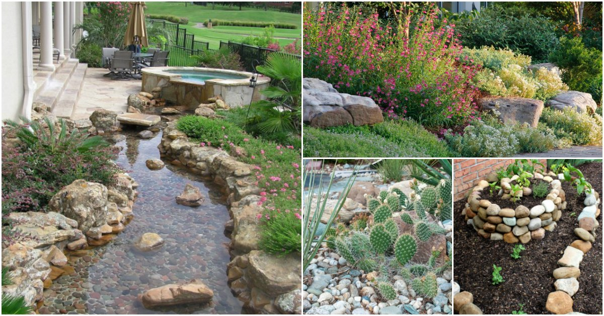 10 Gorgeous And Easy DIY Rock Gardens That Bring Style To Your Outdoors
