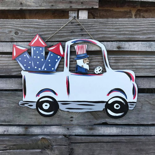16 DIY Rustic Wooden Fourth Of July Decor Ideas Style