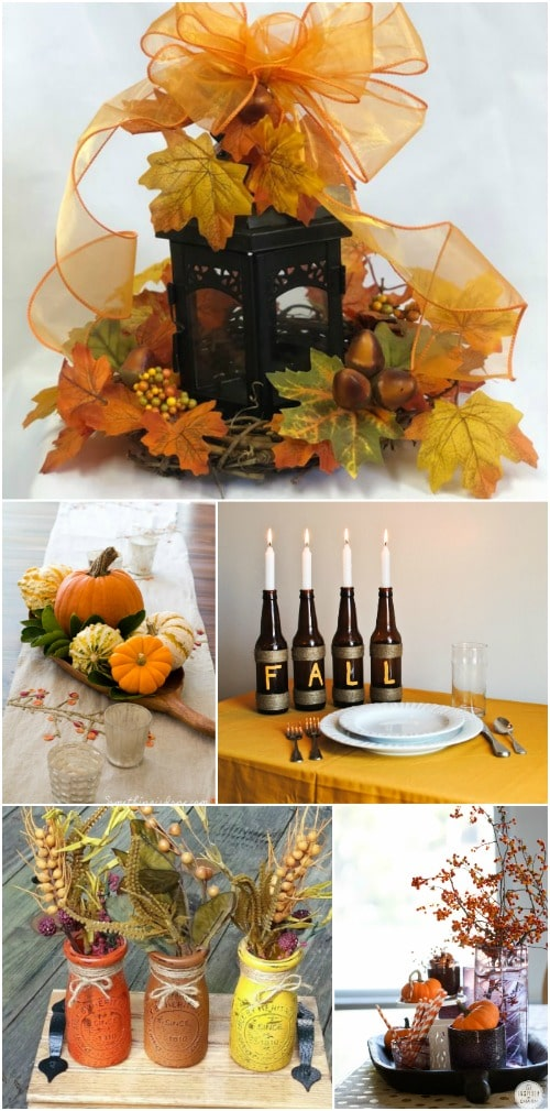 15 Gorgeous Diy Fall Centerpieces That Dress Your Dining