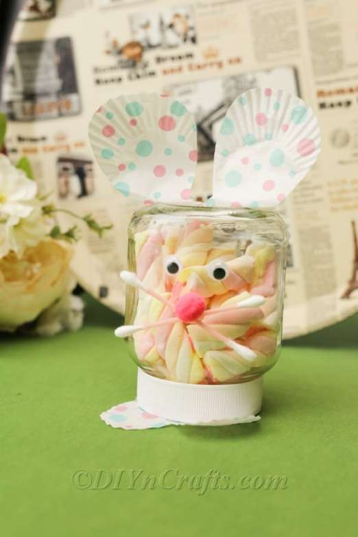 Easy 15 Minute Easter Jar Project
