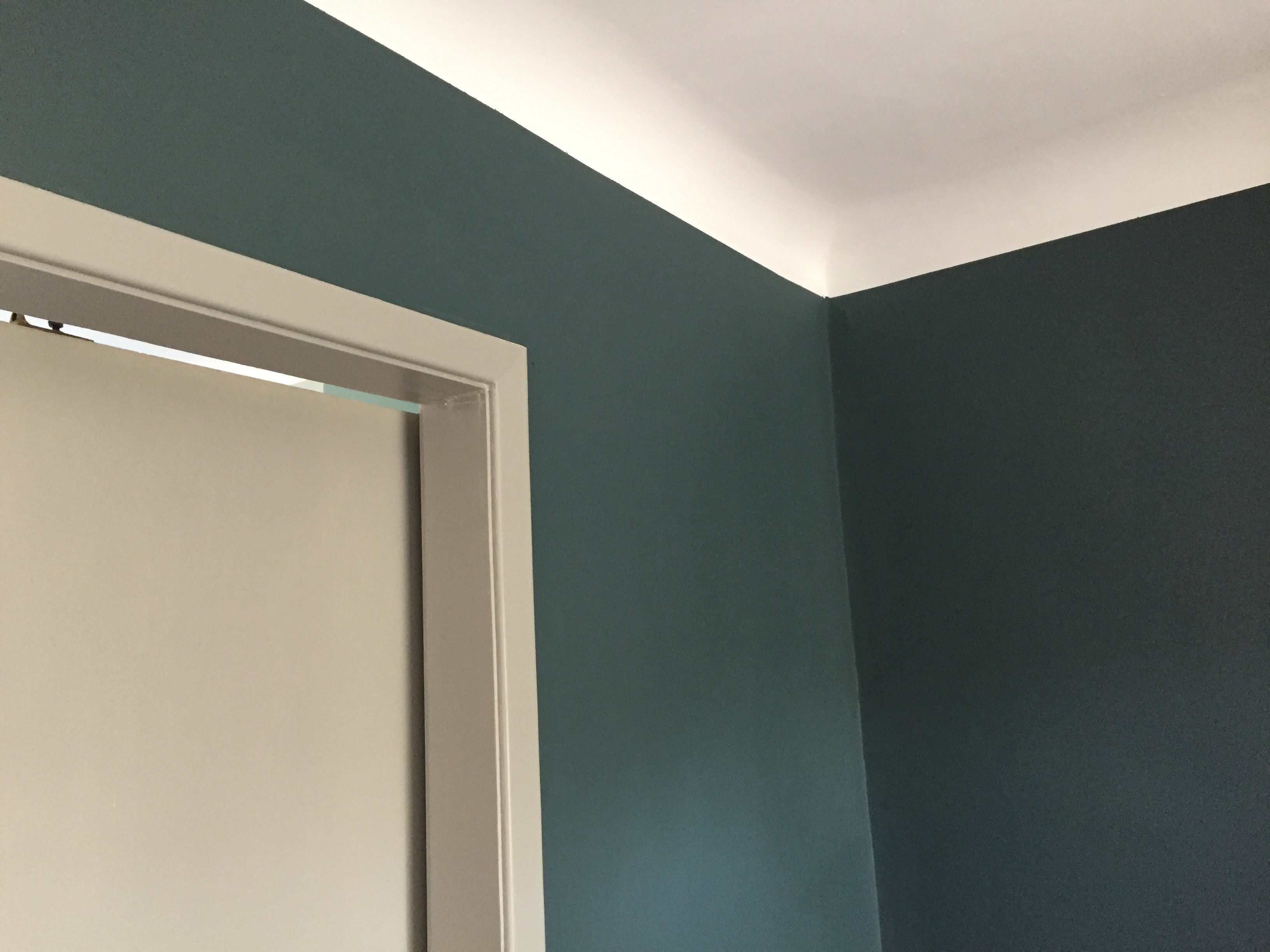 How To Paint Edges Between Wall And Ceiling Mail Cabinet