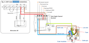 Wiring Hive Smart Thermostat to Combi Boiler | DIYnot Forums