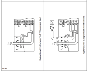 Wiring 2 zone heating valves and 2 salus room stats to a