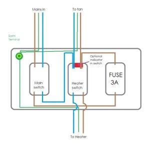drimaster HEAT wiring | DIYnot Forums