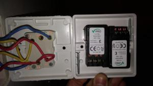 Help replacing double switch for double dimmer switch | DIYnot Forums