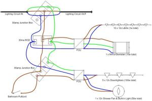 Diagram review for Bathroom ReInstall | DIYnot Forums