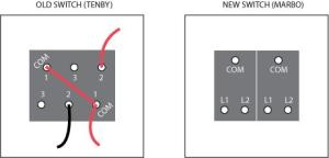 Double light switch wiring diagram | DIYnot Forums