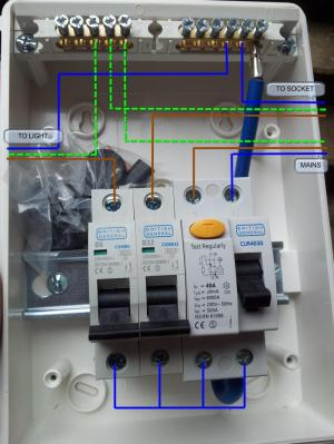 Replacing Outhouse RCD UNit  Wiring Help | DIYnot Forums