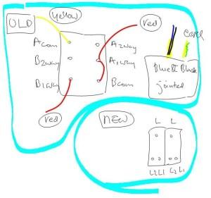 2 Gang 2 Way Light switch | DIYnot Forums