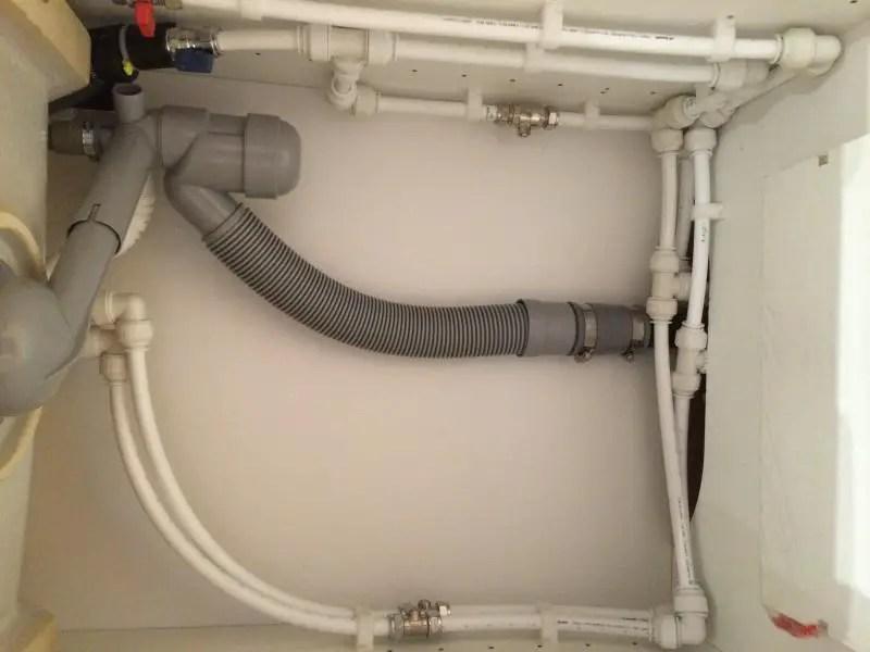 odd waste pipe size ikea sink diynot