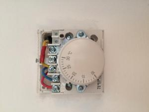 wiring honeywell t63604360 central heating thermostat
