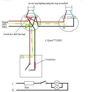 Electrics:single way lighting
