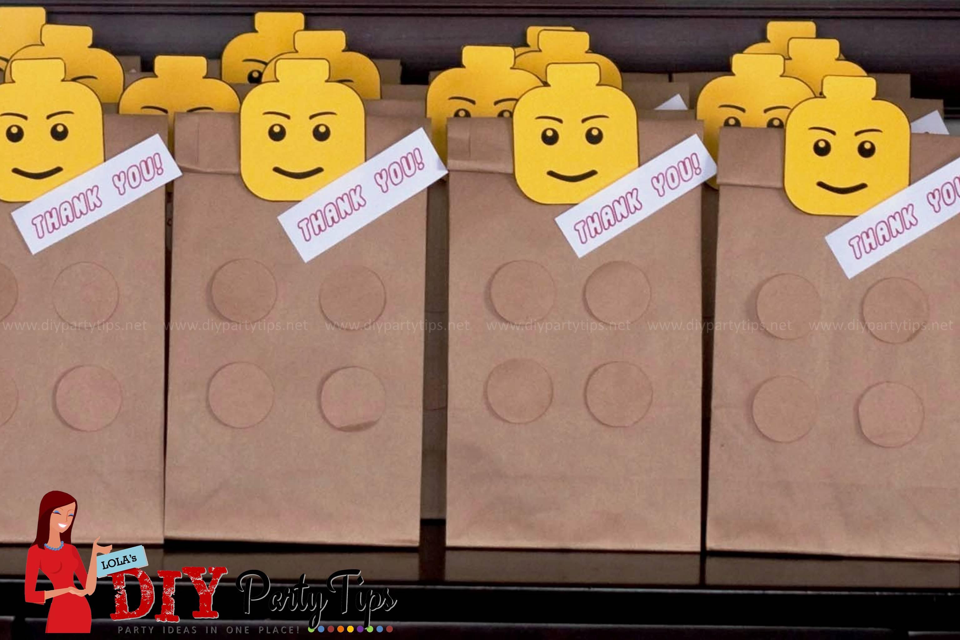 Free Printable Lego Party Lootbags Lola S Diy Party Tips
