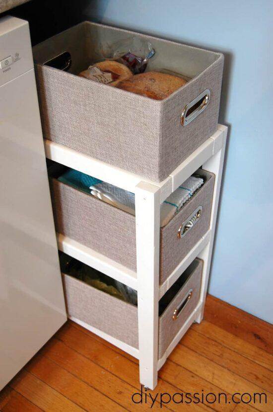 Kitchen Basket Shelf 4