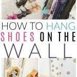 How to Hang Shoes on the Wall | DIY Shoe Storage Solution