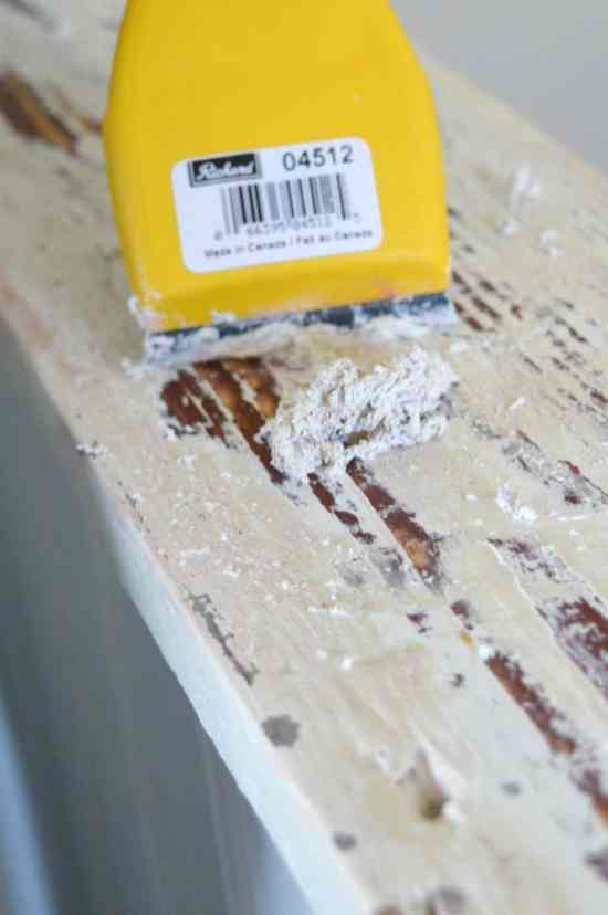 How to reclaim painted wood