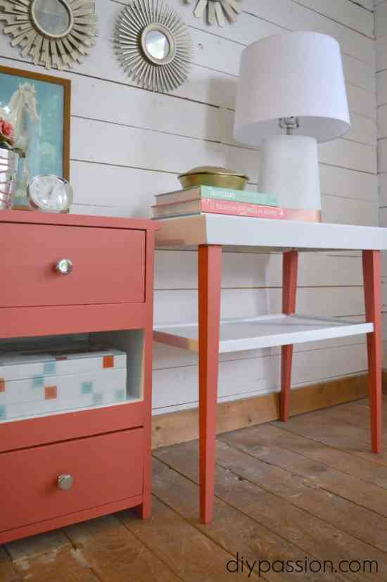 How to Paint End Tables 4