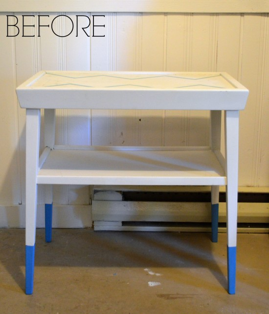 Painted Side Tables Before 1