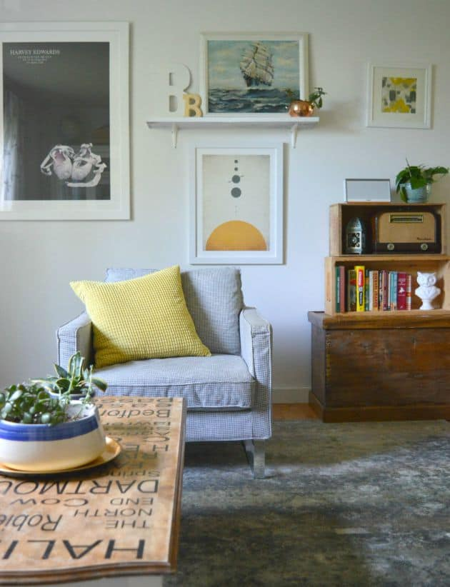 Refresh Your Decor Without Spending Any Money Living Room Update